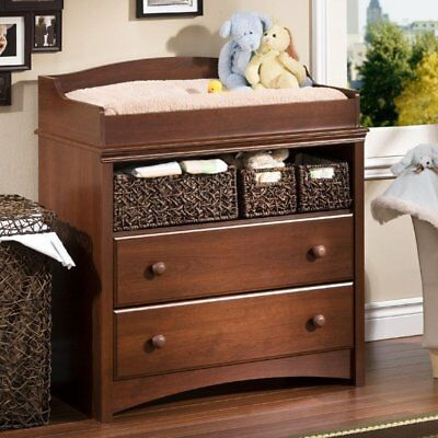 South Shore Sweet Morning Changing Table - Royal Cherry