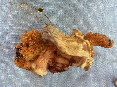 """New Boyds Bears & Friends """"Hope the Angel Bear with Wreath"""" Christmas/Holiday Or"""