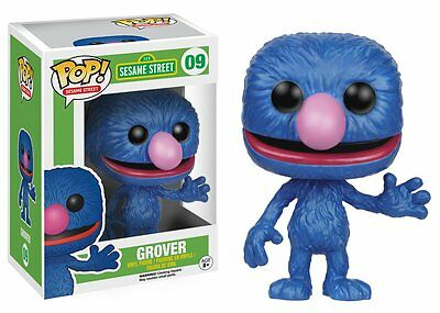 Grover Sesame Street Pop Tv Vinyl Figure Funko New Vaulted