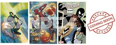 4 Comic Book Lot Amazing Spiderman 798 1St Print & 3 Variants Red Goblin Presale