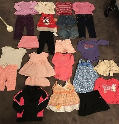 Girls Size 18-24 Months Spring Summer Clothes Lots!!!