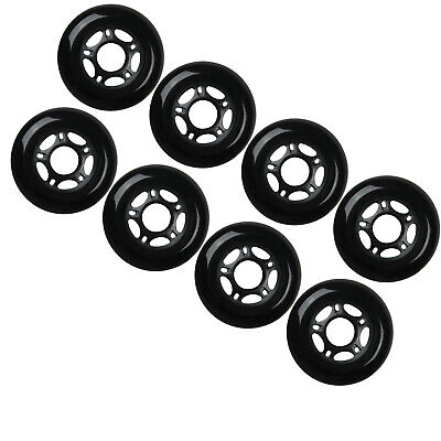 Outdoor Rollerblade Inline Hockey Fitness Skate Wheels 72mm 82A Set Of 8