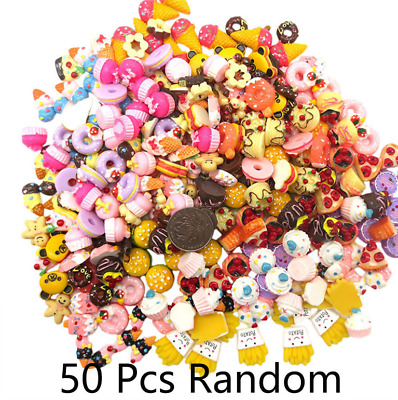 Wholesale 50Pcs Squishy Fast food&Rilakkuma Squeeze Charms Slow Rising Toy Gift