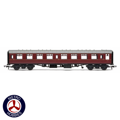 Hornby OO BR Mk1 Coach Seconnd Open Maroon HOR-R4786 Brand New