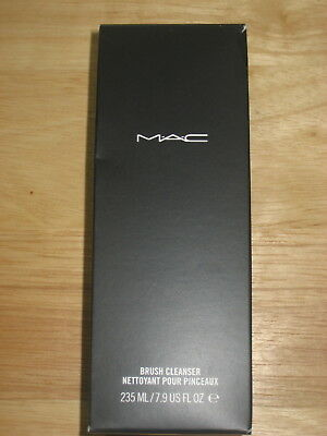 NEW mac makeup brush cleaner boxed 7.9 fl oz. full size!
