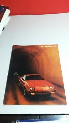 Ford Motor Company Annual Report 1980 1981 1982 1983 1984 Brochures
