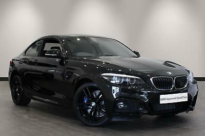 2017 bmw 2 series 220i m sport coupe petrol black automatic 28 picclick uk. Black Bedroom Furniture Sets. Home Design Ideas