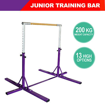 Gymnastics Horizontal Bar Pull/Chin Up Sports Gym Training Fitness Adjustable
