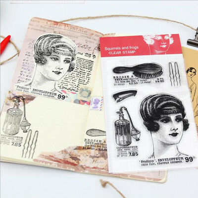 Character Clear Rubber Stamps Scrapbook Paper Craft Clear stamp scrapbooking