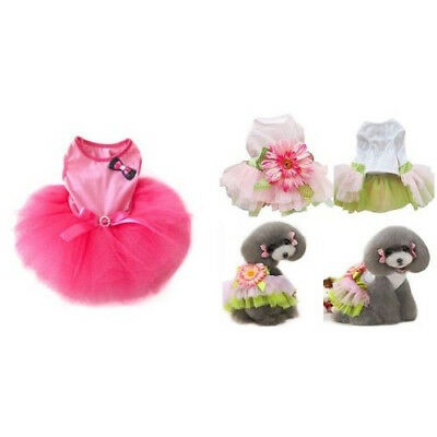 Lovely Princess Pink Bow-knot Dress Clothes For Dog