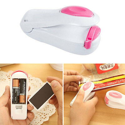 Mini Portable Heat Sealing Machine Impulse Food Packing Plastic Bag Sealer Tool
