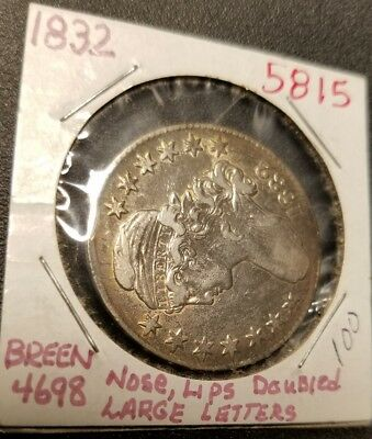 1832 Capped Bust Half Dollar 5815