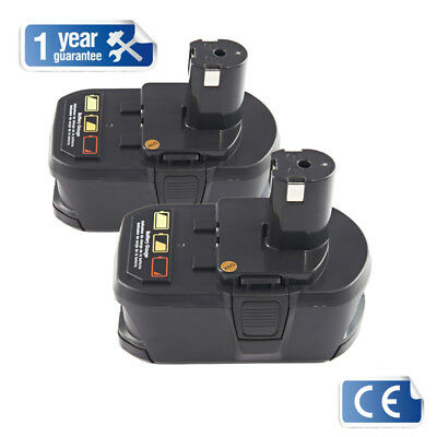 2X 5.0Ah 18V Li-ion Battery for Ryobi One Plus RB18L25 RB18L50 P108 P107 P104