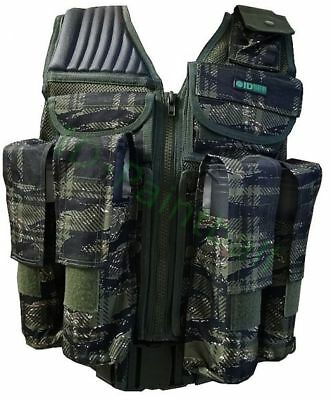 Tactical Paintball Weste Tiger Stripe Camo