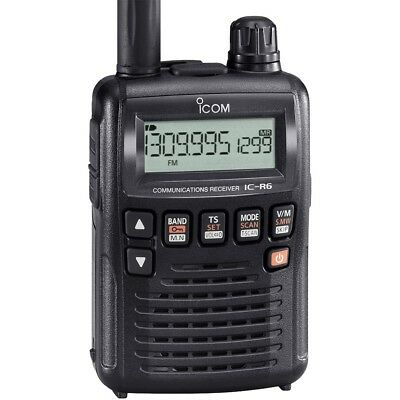 ICOM IC-R6 Receiver portable such large coverage 0,1~1310 MHz 3459