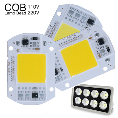 Smart IC Driver LED light Bulb COB Chip 110V 220V Input Integrated20/30/50W Powe