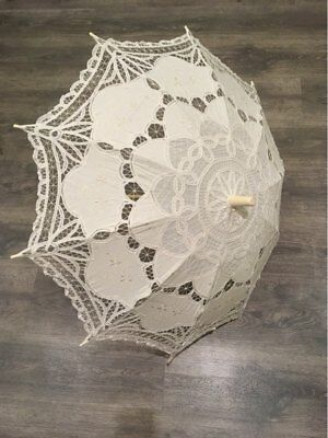 Bridal Wedding Umbrella Romantic Women Marriage Accessories Bride Lace Parasol