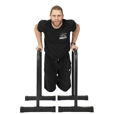 Gravity Fitness XL Pro Parallettes 2.0 - New 38mm Handles