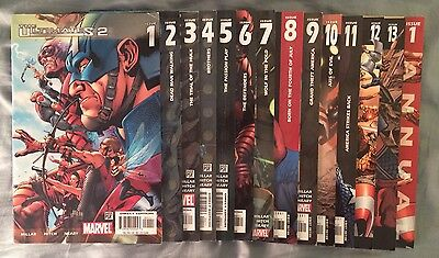 The Ultimates 2 issue 1 - 13 Marvel Comics + #1 Annual by Mark Millar