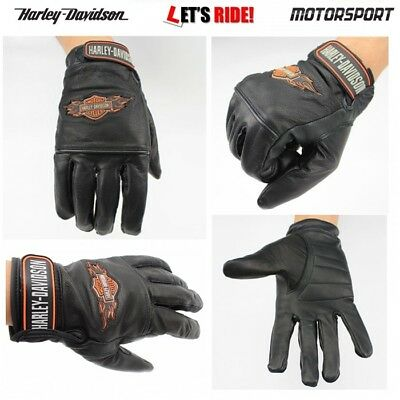Motorcycle Gloves,Mens Biker Motorcycle,leather gloves,Harley Davidson gloves,