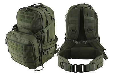 Kombat Uk Unisex Recon Pack 50 Litre Olive Green 2 Day Molle Tactical Backpack
