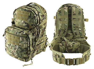 Kombat Uk Unisex Recon Pack 50 Litre Btp Camo 2 Day Molle Tactical Backpack