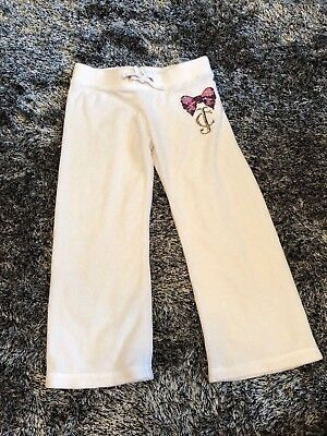 Good Condition - Juicy Couture Tracksuit Bottoms Sequin - Small Age 3 - 4 Years