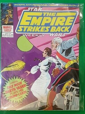 The Empire Strikes Back Weekly ***VGC - ISSUE 138!!*** Marvel 1980 Star Wars #2