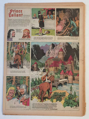 Hal Foster, Prince Valiant 1943 –  50 of 52, ALL FULL, NO RESERVE!