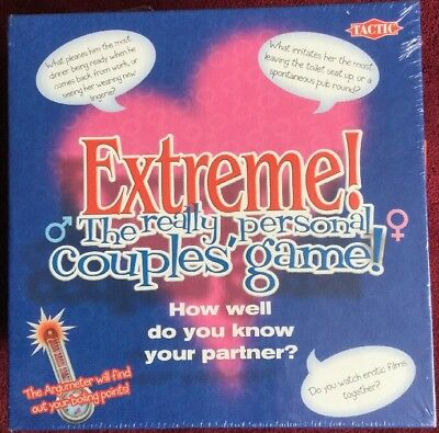 EXTREME ! : THE REALLY PERSONAL COUPLES BOARD GAME , new/sealed BNIB