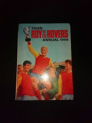 Roy of The Rovers Annual 1968 Vintage Football/Soccer Hardback