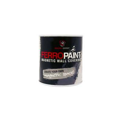 FerroPaint® Magnetic Paint - Charcoal - 0.5 Litres (2 Tins)