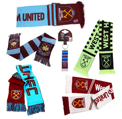 Football Team West Ham Scarf - Supporter Soccer Club Gift Scarves