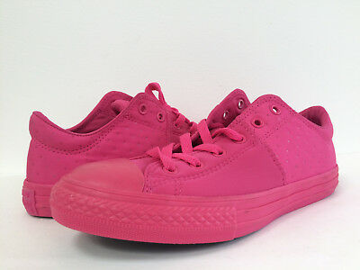 New Converse Junior Youth Girls All Star Madison Sneaker Shoe Pink Size 4.5Y 5Y