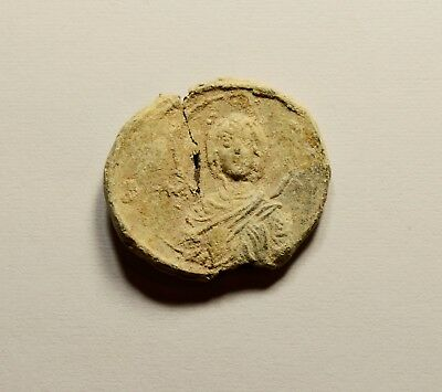 Interesting Ancient Byzantine Period Lead Seal