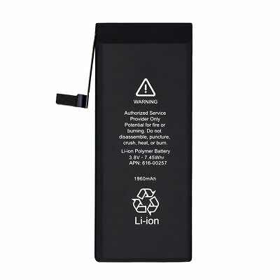 Replacement 1960mAh Li-Ion OEM Battery with Flex Cable For Apple iPhone 7 4.7""