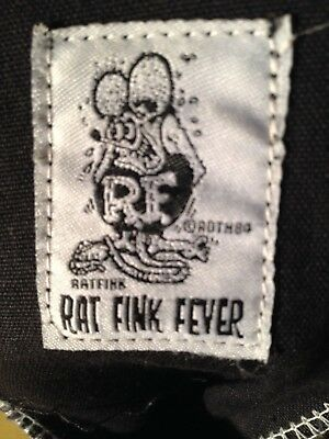 Rat Fink Shoes, Hi Top Sneakers, 10 1/2, Big Daddy Ed Roth, Official, Very Rare