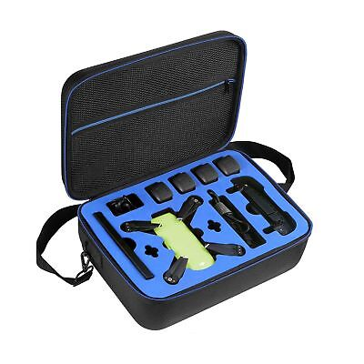 DJI Spark Drone Carrying Case by DOUBI - fit for 4 Drone Batteries, Remote Co...