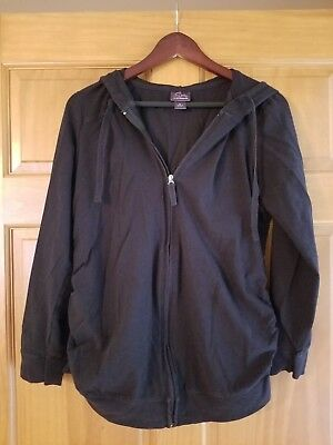 Oh Baby By Motherhood Size L Zip up Maternity Hoodie