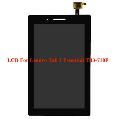 Black For 7'' Lenovo Tab 3 Essential TB3-710F LCD Display+Touch Screen Assembly