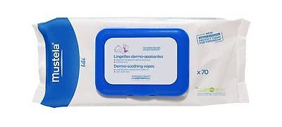 Mustela Dermo-Soothing Wipes, Ultra Soft Baby Wipes with Natural Avocado Pers...
