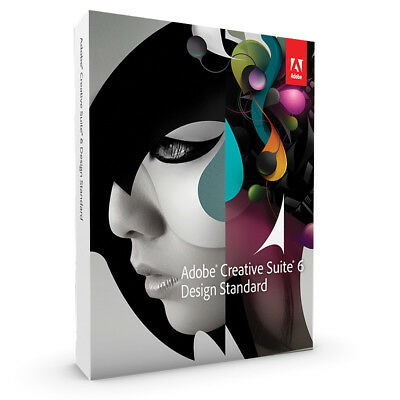 Adobe CS6 Design Standard, Creative Suite, Englisch, Widows,Vollversion