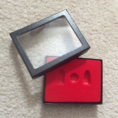 "Box (of 3) 3-1/4"" x 4-1/4"" x 3/4"" Display Cases for Relic CIVIL WAR Bullets"