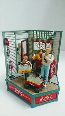 EnescoCoca-Cola Store Action Musical Plays Things Go Better With Coke Mint RARE