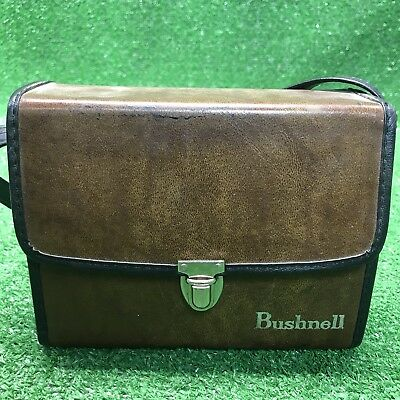Vintage Bushnell Binoculars Case - Brown - With Strap Fast Free Shipping