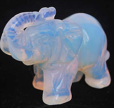 Sri Lanka Moonstone Hand Carved Elephant,Gemstone