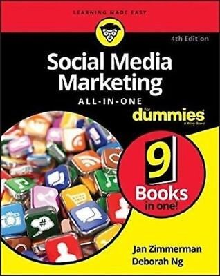 Social Media Marketing All-in-One For Dummies 2017 PDF Read on PC/SmartPhone/Tab