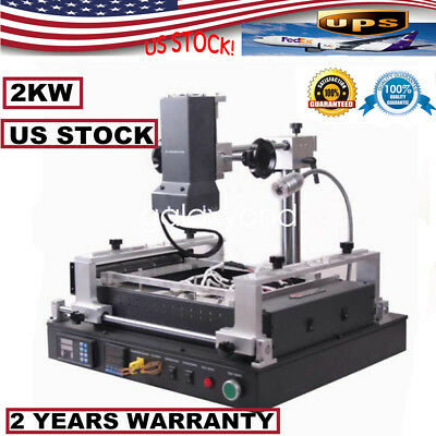 2KW  Infrared BGA Rework Station Repair Heating Reball Soldering Welding Welder