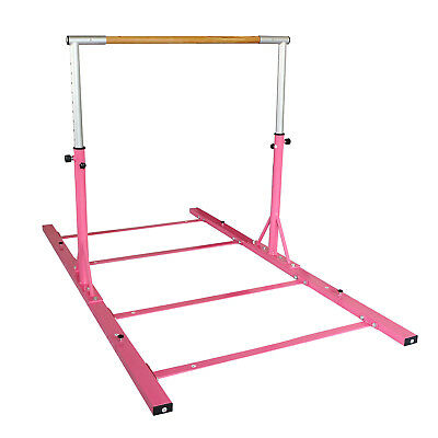Gymnastics Horizontal bars Home Indoor Pull/Chin Up Pink Sports Goods Adjustable
