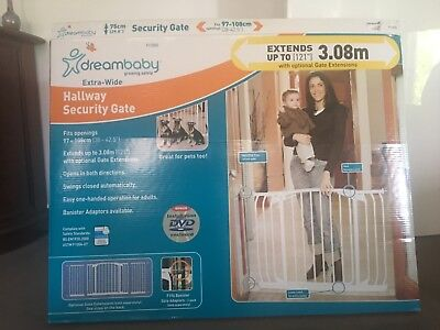 Dreambaby Extra Wide Security Gate